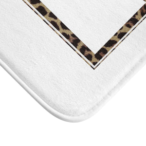 Zebra Signature Soft Bath Mat Collection - Zabba Designs African Clothing Store