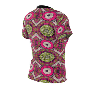 Sweet Fall Women's African Print Polyester  Tee - Zabba Designs African Clothing Store