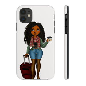 Melanin Phone Case Mate Tough Phone Cases - Zabba Designs African Clothing Store