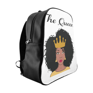 African Queen School Backpack - Zabba Designs African Clothing Store