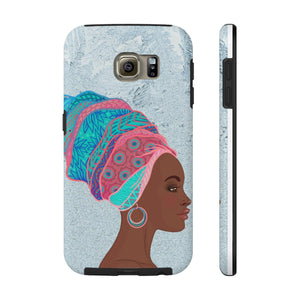 African Queen Phone Cases - Zabba Designs African Clothing Store
