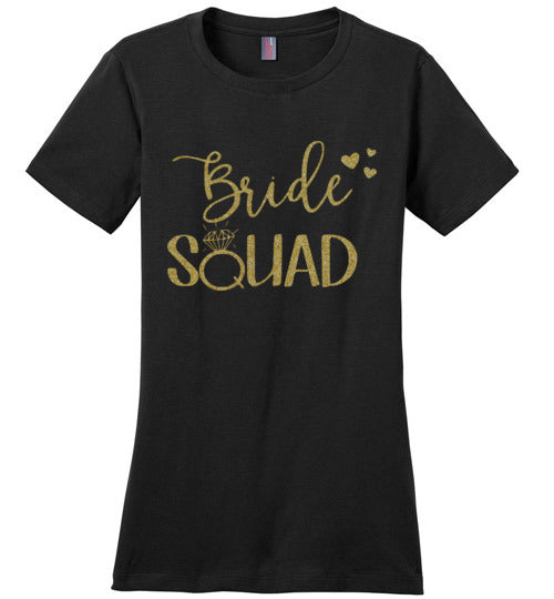 Fierce Bride Squad  Tee Shirt - Zabba Designs African Clothing Store