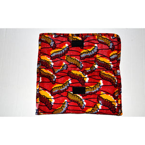 Red And Black African Inspired Evening Clutch - Zabba Designs African Clothing Store