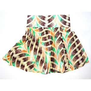 The GUGA Aline Mini Skirt - Zabba Designs African Clothing Store
