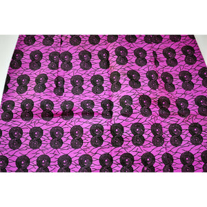 Purple African Print Mini Pencil Skirt - Zabba Designs African Clothing Store