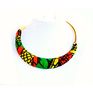 Statement African Fashion Necklace Set - Zabba Designs African Clothing Store