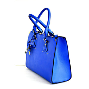 Trendy Designer Fashion Handbag Blue - Zabba Designs African Clothing Store