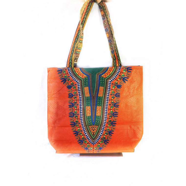 Dashiki African Print Tote Bag
