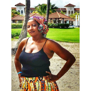 Samba Traditional Print Headwrap - Zabba Designs African Clothing Store