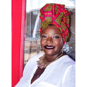 Abla African HeadWrap - Zabba Designs African Clothing Store
