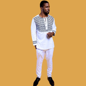 Nasesi African Print Two Piece Men's Suit