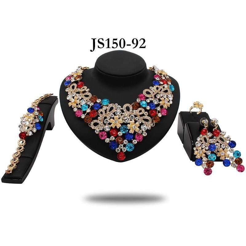 COOP STATEMENT CRYSTAL COLLAR - Zabba Designs African Clothing Store