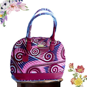 Trendy African Fashion Hand Bag Pink
