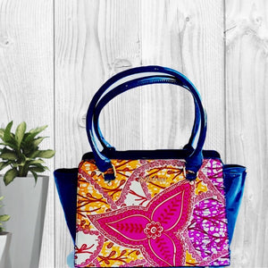 Aisha African Print Bag - Zabba Designs African Clothing Store