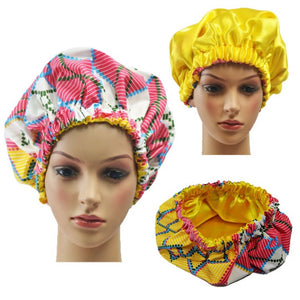Candy Pink Adult Ankara Bonnet - Zabba Designs African Clothing Store