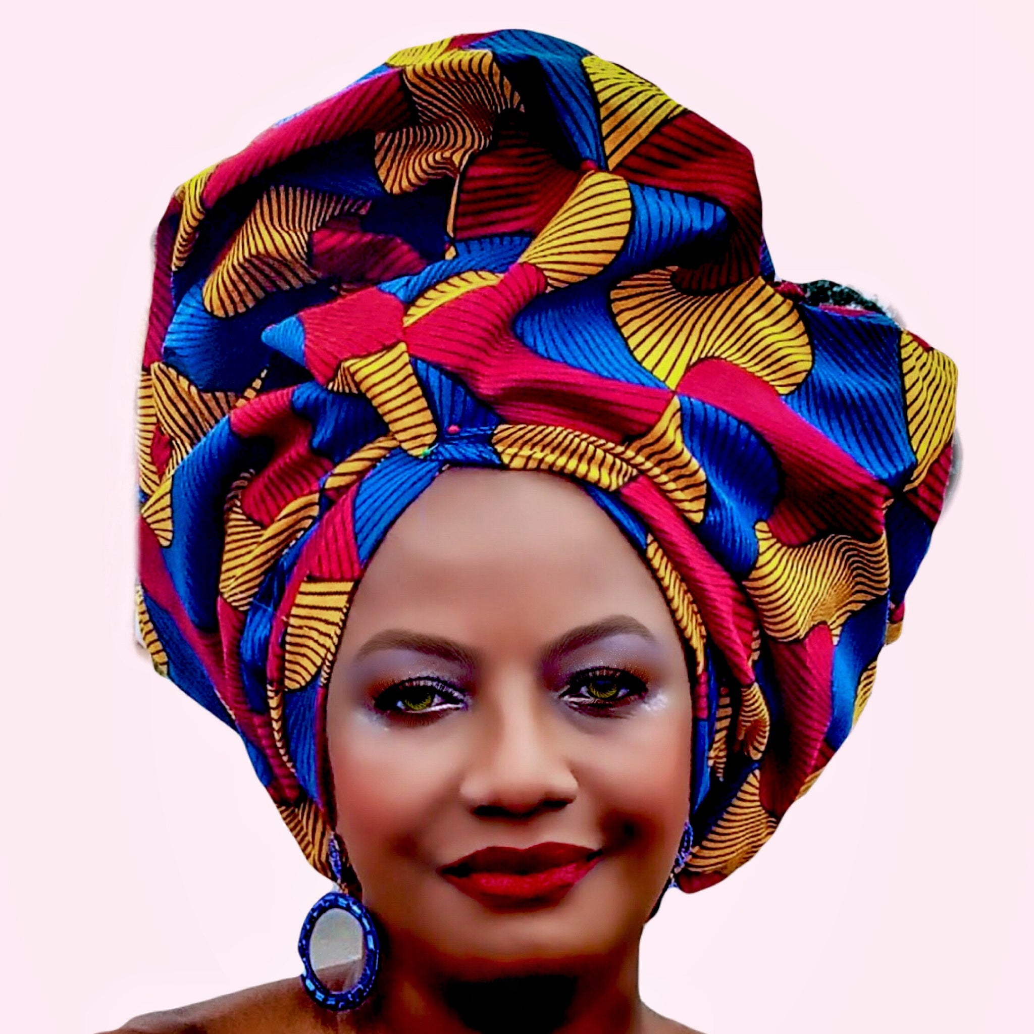 868869f07a9 Adisa African Print HeadWrap - Zabba Designs African Clothing Store
