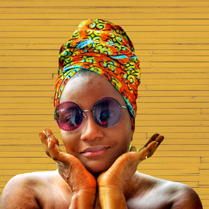 Tsubaki Head Wrap - Zabba Designs African Clothing Store