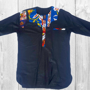 Korlu African Linen Men's Shirt - Zabba Designs African Clothing Store