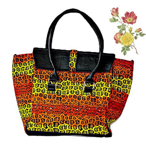 The Ashley  Ghana African Bag