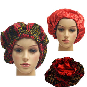 Geeerzzz Satin-Lined Hair Bonnet - Zabba Designs African Clothing Store