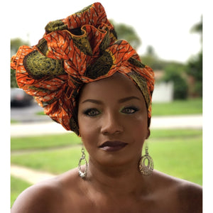 Asagio Headwrap - Zabba Designs African Clothing Store