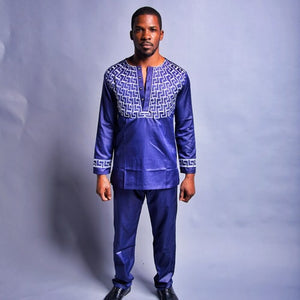 Adedayo African Men Suit - Zabba Designs African Clothing Store