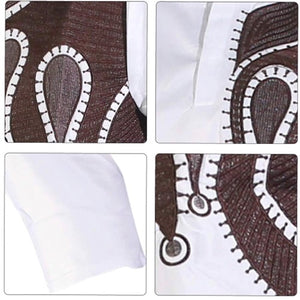 Alaba African Print Two Piece Men's Suit - Zabba Designs African Clothing Store