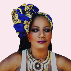 KREW African Print Head Wrap - Zabba Designs African Clothing Store