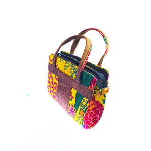 NIKKI African Print Bag - Zabba Designs African Clothing Store
