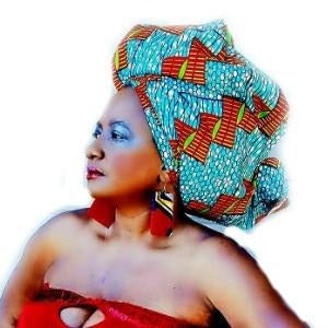 THE ACCRA African Print Head Wrap - Zabba Designs African Clothing Store