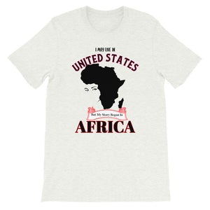 Africa Story Short-Sleeve Unisex T-Shirt - Zabba Designs African Clothing Store