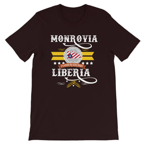 Monrovia Liberia Is Where My Story Began T-Shirt