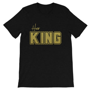 Her  King Short-Sleeve Men's T-Shirt - Zabba Designs African Clothing Store