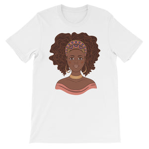 Mime Short-Sleeve Unisex T-Shirt - Zabba Designs African Clothing Store