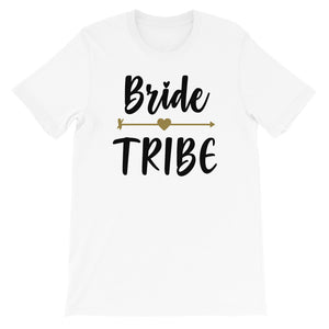 Bride Tribe Short-Sleeve T-Shirt - Zabba Designs African Clothing Store