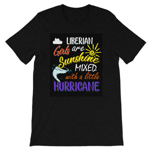 Liberian Hurricaine Short-Sleeve Unisex T-Shirt - Zabba Designs African Clothing Store