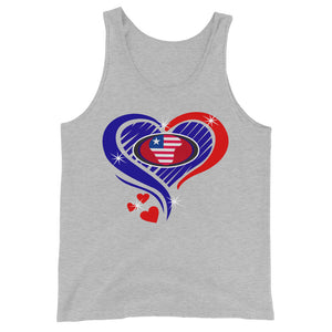 Liberia Unisex Tank Top - Zabba Designs African Clothing Store