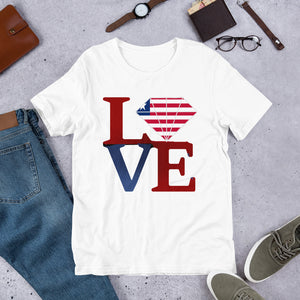 I Love Liberia T-Shirt - Zabba Designs African Clothing Store