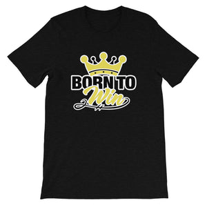 Born To Win Liberian Short-Sleeve T-Shirt - Zabba Designs African Clothing Store
