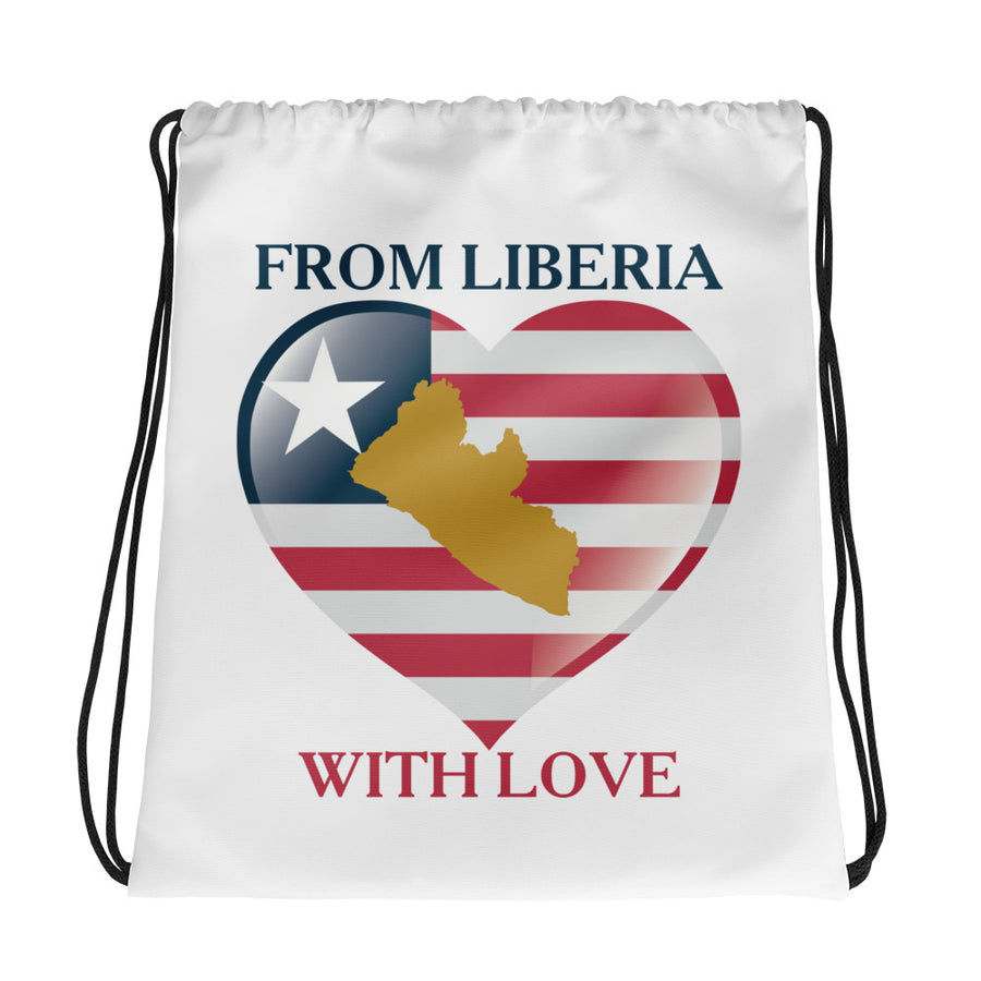 From Liberia Drawstring bag - Zabba Designs African Clothing Store