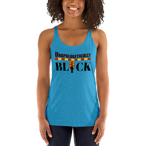 Unapologetically Black African Women's Racerback Tank