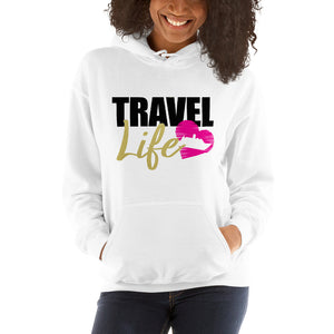My Travel Life Unisex Hoodie - Zabba Designs African Clothing Store