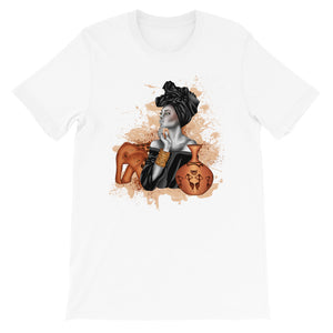 Liberian Girl Short-Sleeve Unisex T-Shirt - Zabba Designs African Clothing Store