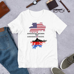 American Grown African Roots T-Shirt - Zabba Designs African Clothing Store