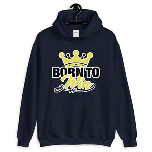 Born To Win Unisex Hoodie - Zabba Designs African Clothing Store