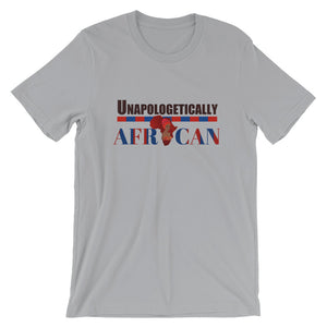 Unapologetically African Short-Sleeve Unisex T-Shirt - Zabba Designs African Clothing Store