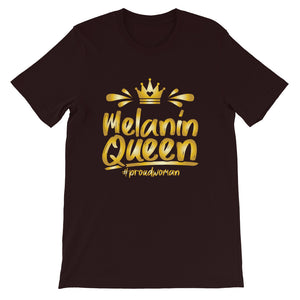 Melanin Queen T-Shirt - Zabba Designs African Clothing Store