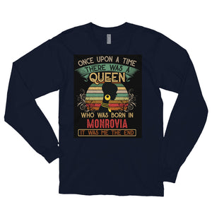 Liberian Queen Mimi Long sleeve t-shirt - Zabba Designs African Clothing Store