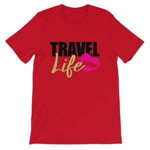 My Travel Life Short-Sleeve T-Shirt - Zabba Designs African Clothing Store