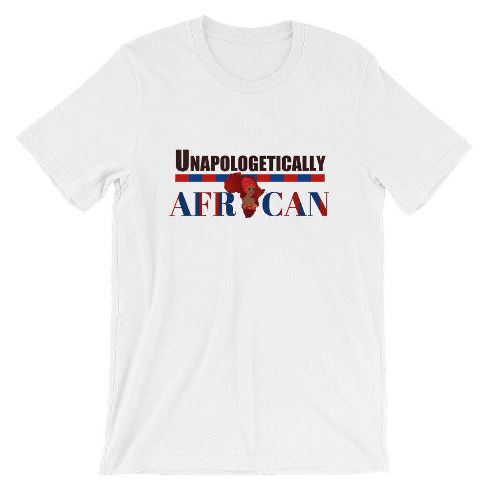 Unapologetically African Short-Sleeve Unisex T-Shirt